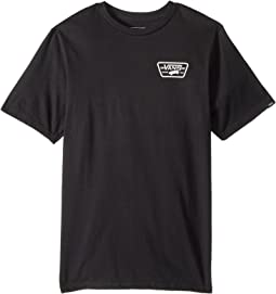 Vans Kids Full Patch Back Short Sleeve T-Shirt (Big Kids)