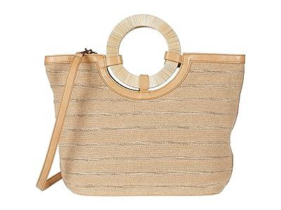 Lucky Brand Ason Large Bucket (Natural) Handbags