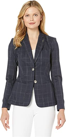 Two-Button Window Pant Jacket