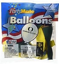 Pioneer Balloon Company 10 Count University of Oregon Latex Balloon, 11