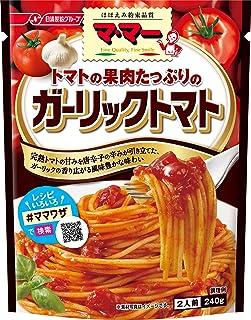 マ・マー トマトの果肉たっぷりのガーリックトマト 240g ×6袋