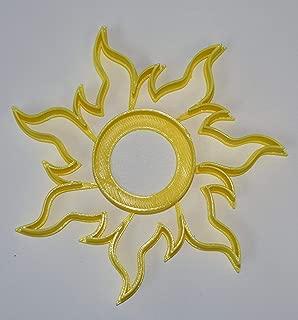TANGLED SUN RAPUNZEL SYMBOL HOPE LIGHT COOKIE CUTTER FONDANT BAKING TOOL USA PR598