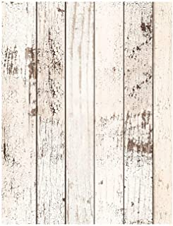 HaokHome 92003 Thick Peel and Stick Reclaimed Wood Planks Wallpaper 17.7