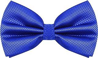 4659fb671b4c6 Alizeal Nœud Papillon déjà noué Mode pour Fête Mariage Soirée pour Homme-Bleu  Royal