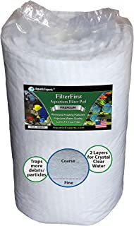Aquatic Experts Aquarium Filter Media Roll – Premium True Dual Density Aquarium..