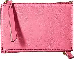Mini Double Zip Wallet