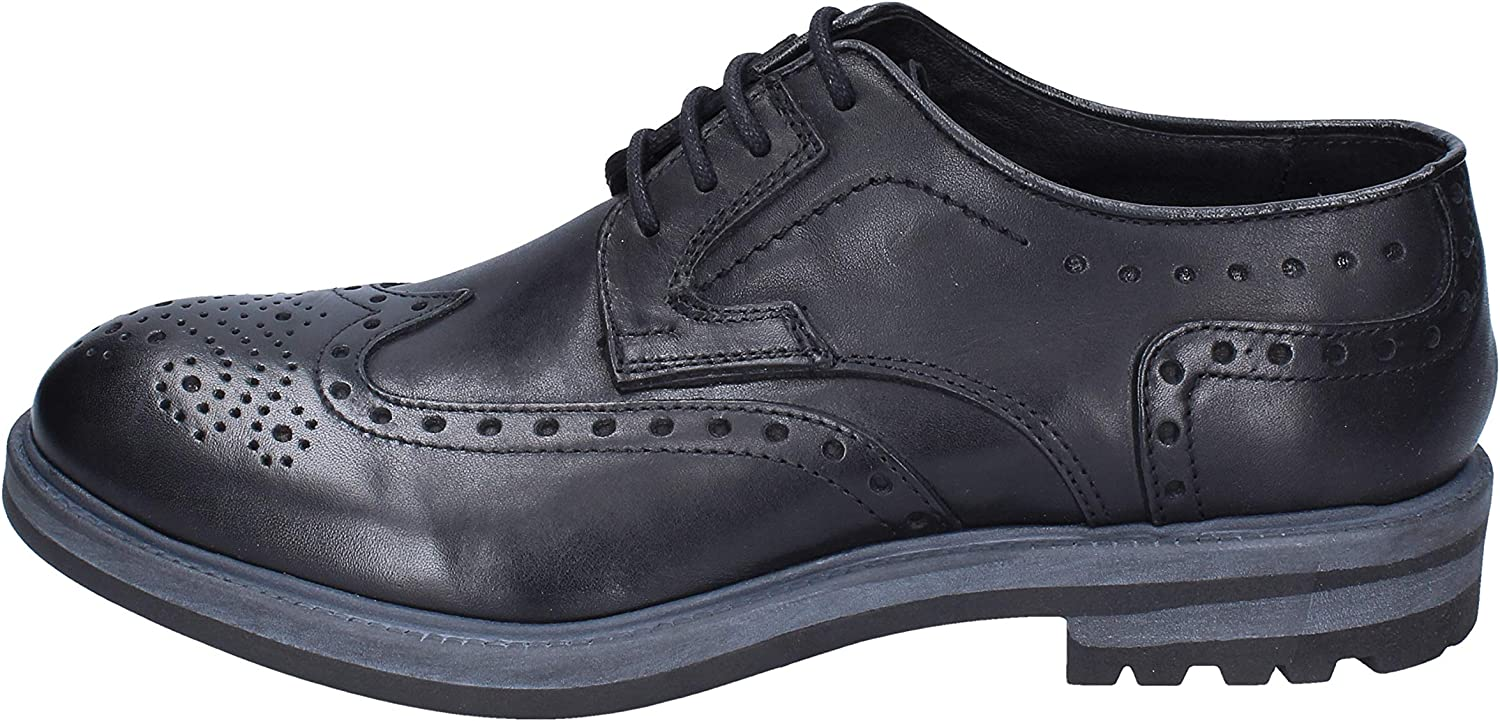 LOLO TARTARUGA Oxfords-shoes Mens Leather Black