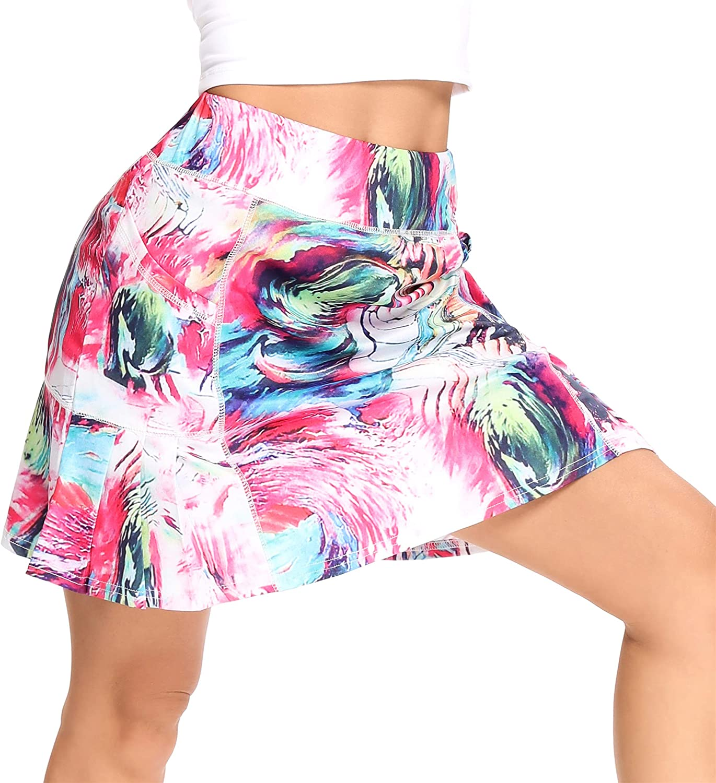 WOWENY Women's Athletic Tennis Skorts for Skirts G Women Running Ranking TOP14 Philadelphia Mall