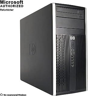 HP Pro 6200 Mini Tower Business High Performance Desktop Computer PC (Intel Core i3-2100 3.1GB Dual Core,6GB RAM DDR3,500G...