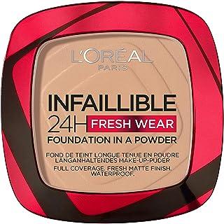 L'Oreal Paris Infaillible 24H Fresh Wear Foundation In A Powder, 120 Warm Vanilla