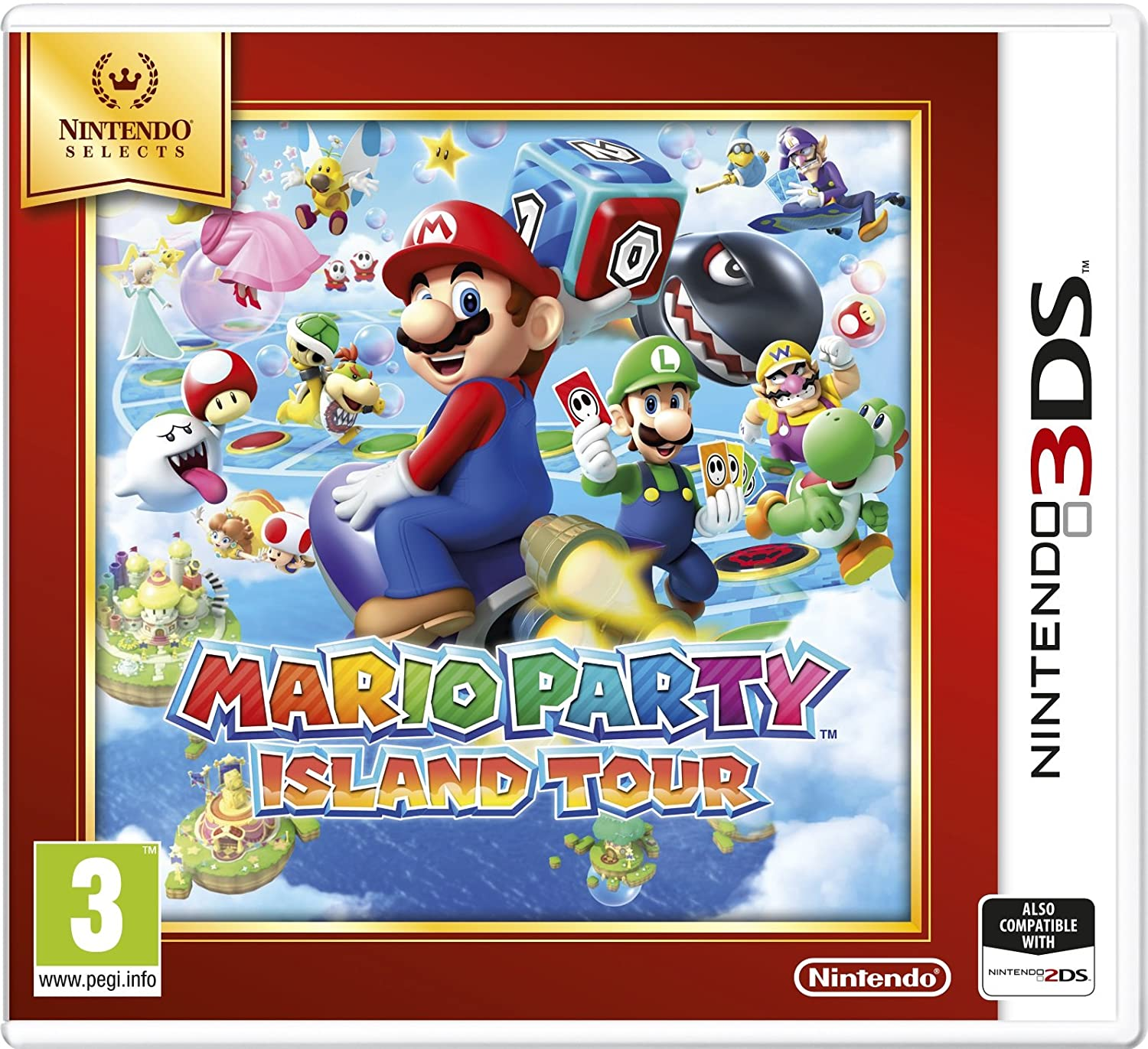 Nintendo Same day shipping Year-end gift Selects - Mario Tour 3DS Party: Island