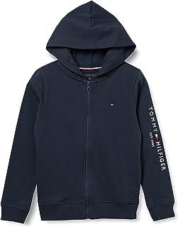 Tommy Hilfiger Essential Hooded Zip Through jongens Pullover trui
