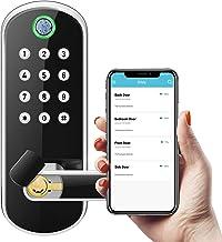 Sifely Keyless Entry Door Lock, Keypad Door Lock, Keyless Door Lock, Fingerprint Door Lock, Biometric Door Lock, Keypad En...