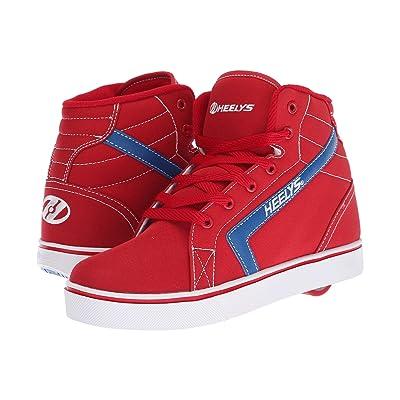 Heelys GR8R Hi (Little Kid/Big Kid/Adult) (Red/Royal) Boys Shoes