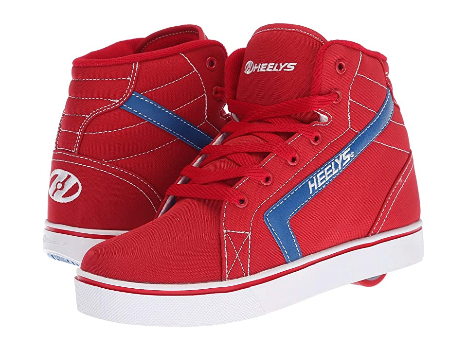 Heelys GR8R Hi (Little Kid/Big Kid/Adult) (Red/Royal) Boys Shoes