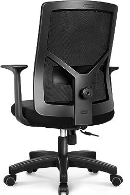 NEO Chair Office Chair Computer Headrest Desk Chair- Head Rest Business Ergonomic High Chair Cushion Lumbar Support Wheels Co