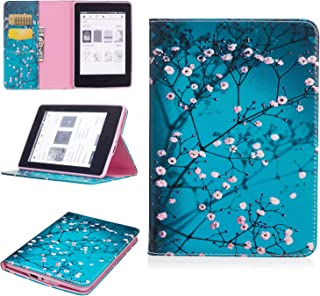 "Jian Ying Painted pattern Case for Amazon Kindle Paperwhite 1/2/3 E-reader, 6"" Premium PU Leather Ultra Slim Lightweight S..."