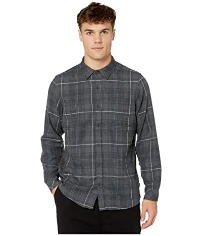 Hurley Vedder Washed Flannel (Anthracite) Men