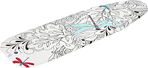 Brabantia 101922 Ironing Board Cover, Size A, 110cm x 30cm, Drangonfly