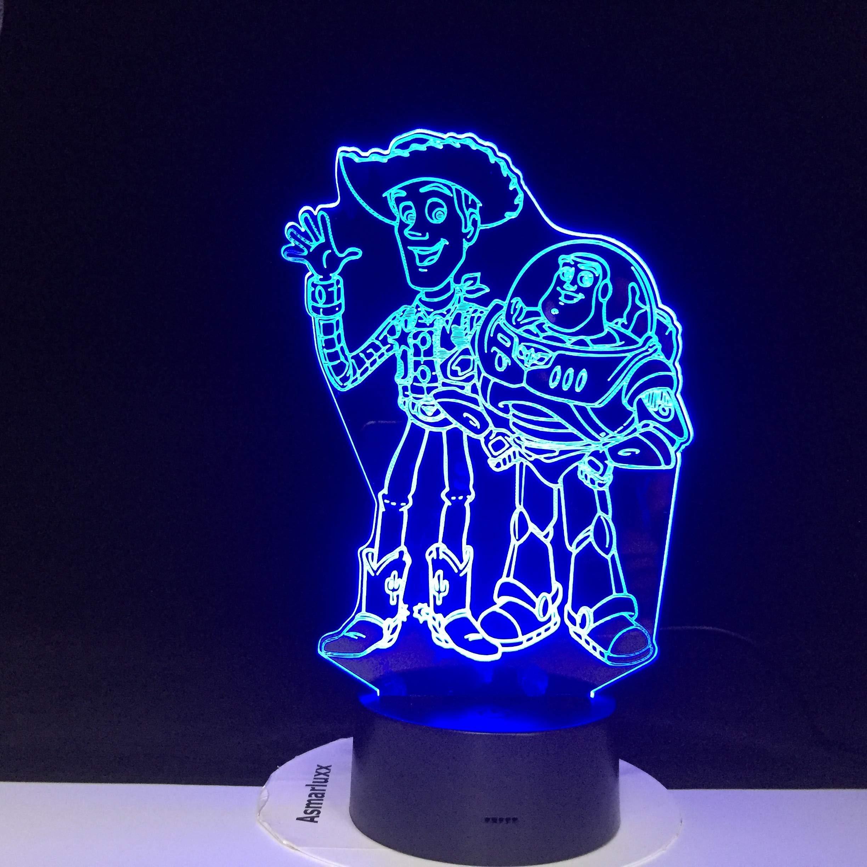 3D colorido luz de la noche atmósfera luz juego animal paisaje celebridad dinosaurio lámpara de mesa para niños lámpara de mesa de luna lámpara de mesa recargable pecera: Amazon.es: Iluminación