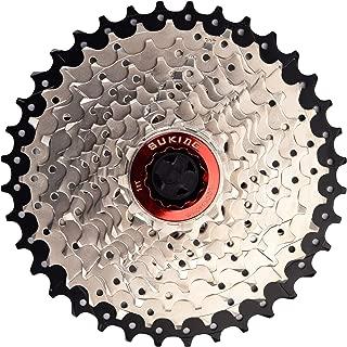 CYSKY 10 Speed Cassette 10Speed 11-40 Cassette Fit for Mountain Bike, Road Bicycle, MTB, BMX, Sram Sunrace Shimano ultegra xt (Light Weight)