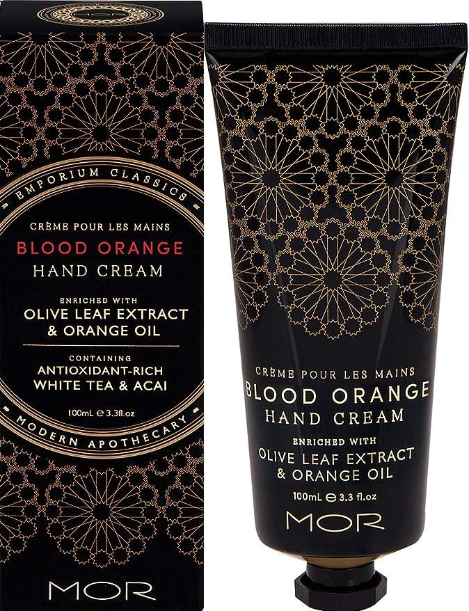 プロフィールにやにや重要性MOR(モア) エンポリアムクラシックス ハンドクリーム ブラッドオレンジ 100ml