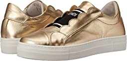 Fendi Kids - Metallic Logo Slip-On Sneakers (Little Kid/Big Kid)