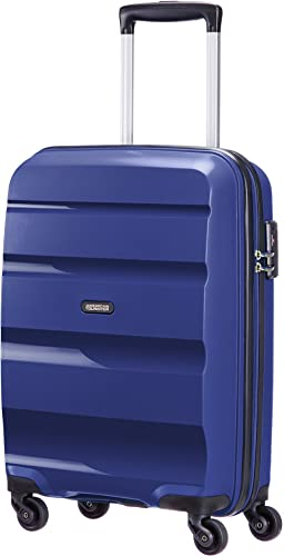 American Tourister Bon Air Spinner Bagage à Main, 55 cm, 31.5 L, Bleu (Midnight Navy)