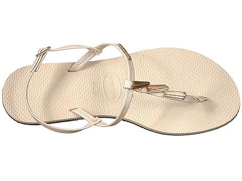 Havaianas You Riviera Maxi Sandals Beige Bulk Designs Outlet Shopping Online aPFCJF