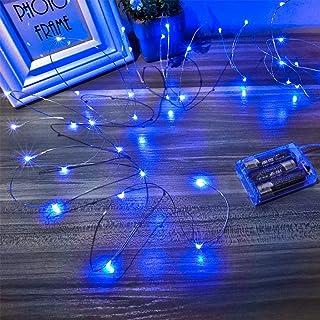 Blue Indoor String Lights | Amazon.com