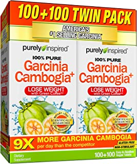 Garcinia Cambogia Weight Loss Pills for Women & Men | Purely Inspired 100% Pure Garcinia Cambogia to Lose Weight | Proven ...