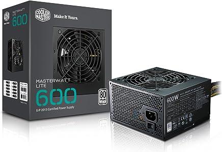Cooler Master MPX-6001-ACABW-EU MasterWatt Lite 600W Alimentatore Non-Modulare 80 Plus Standard 230V EU - Confronta prezzi