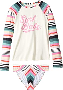 Billabong Kids - Sun Faded Rashguard Set (Little Kids/Big Kids)