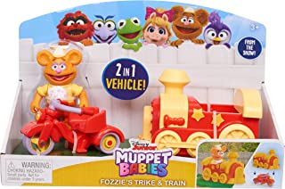 Muppets 14433 Babies Fozzie N Trike N Train, Multicolor