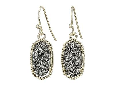 Kendra Scott Lee Earring (Gold/Platinum Drusy) Earring