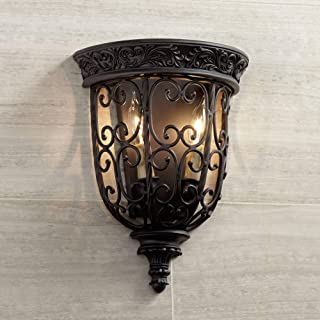 Best rustic bronze wall sconce Reviews