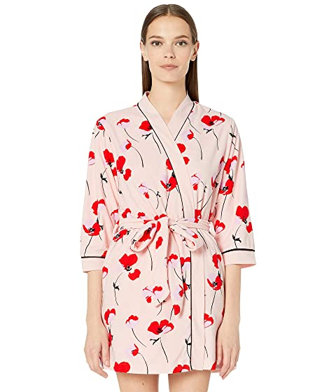 Kate Spade New York Printed Short Terry Robe