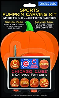 chicago cubs pumpkin