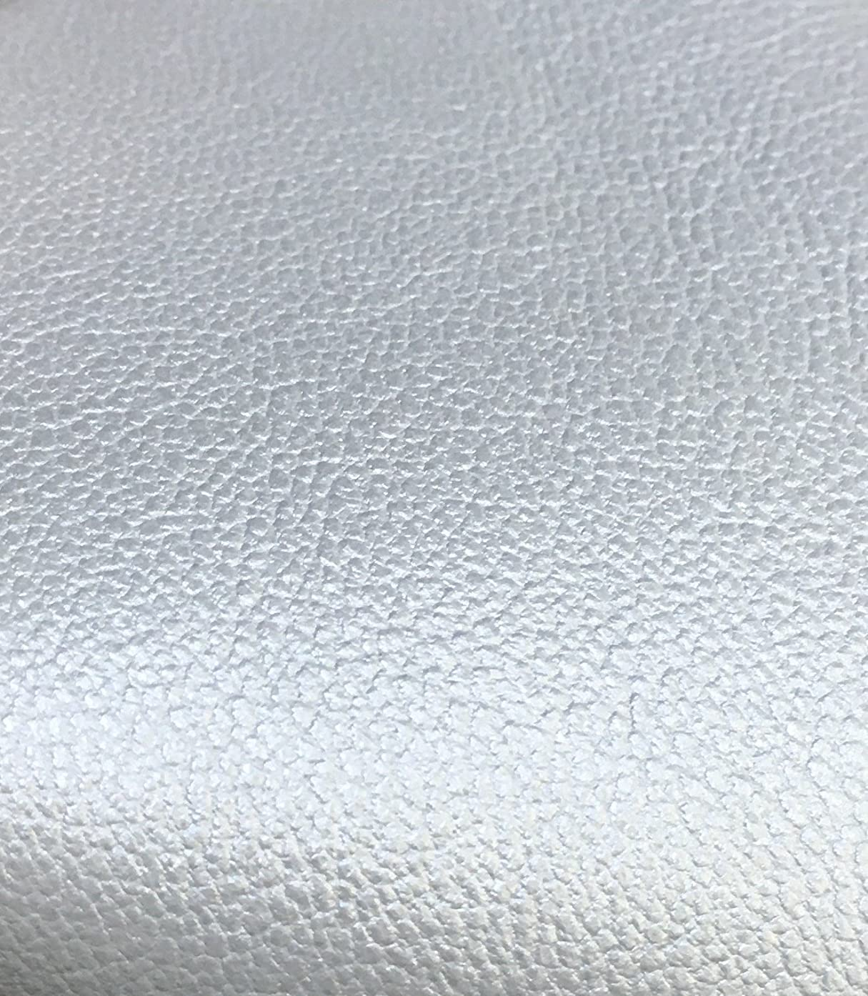 Reed Lamb Skin Leather Hides - Premium Soft Touch Craft Skins (Silver)