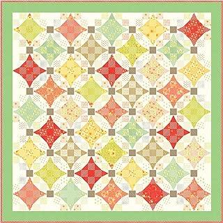 Fig Tree and Co Ella & Ollie Nine Patch Waltz Quilt Kit Moda Fabrics KIT20300