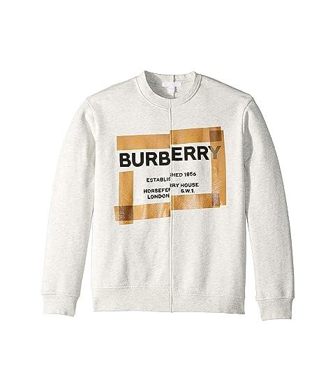 Burberry Kids Patch Sweatshirt (Little Kids/Big Kids)