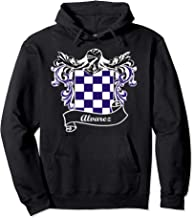 Alvarez Coat of Arms surname last name family crest Pullover Hoodie