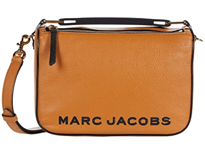 Marc Jacobs The Soft Box 23 Crossbody (Mustard) Handbags