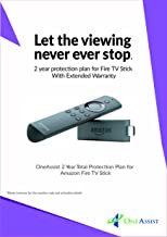 OneAssist 2 Year Total Protection Plan for Amazon Fire TV Stick