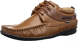 Red Chief Men's Tan Leather Boat Shoes-8 UK (42 EU) (RC1199_879_8)