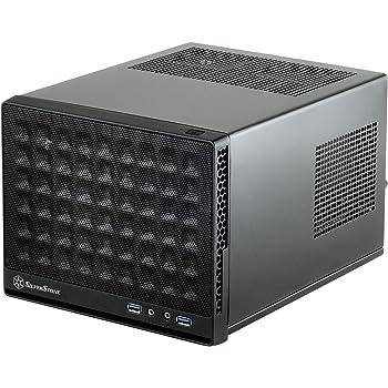 SilverStone SUGOシリーズ Mini-ITX対応キューブ型PCケース メッシュフロントパネル ブラック SST-SG13B