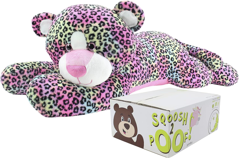 Excellent Animal Adventure Sqoosh2Poof Jumbo Jacksonville Mall Character Compresse Plush