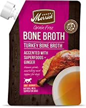 product image for Merrick Grain Free Turkey Bone Broth Wet Dog Food, 16 oz.