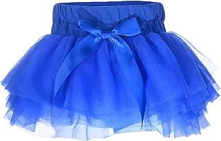 Baby Girls'Tutu Skirt with Shorts Newborn Toddler Tulle Skorts 0-24 Months