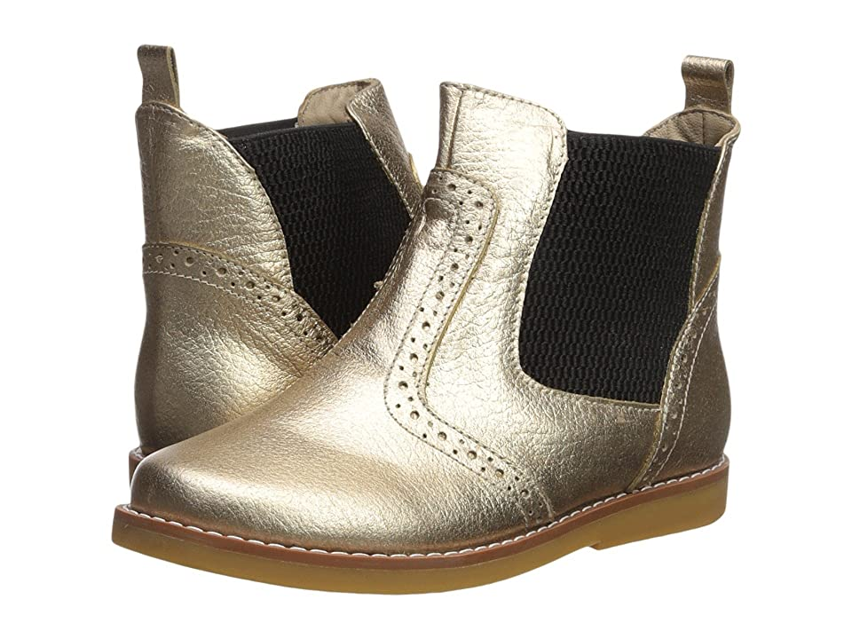 Elephantito Bootie (Toddler/Little Kid/Big Kid) (Gold) Girl